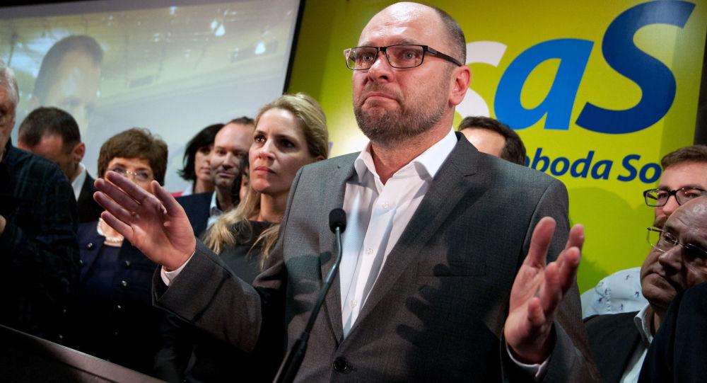 Slovenský europoslanec Richard Sulík