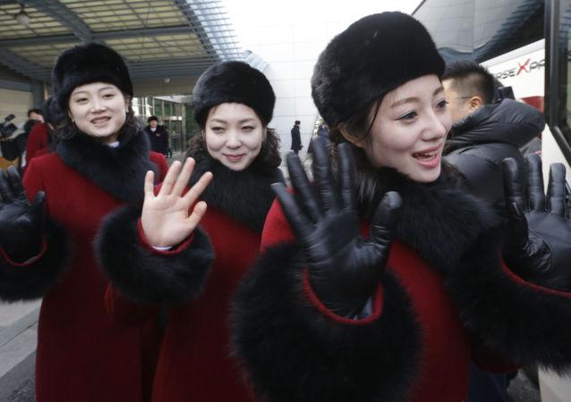 Severokorejské fanynky