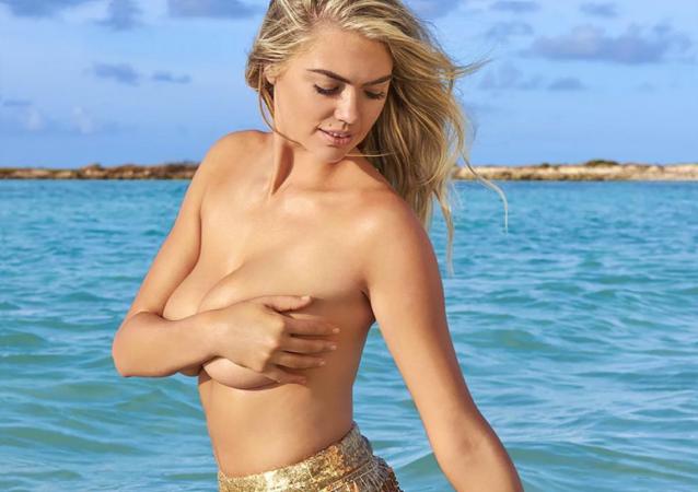 Modelka Kate Uptonová