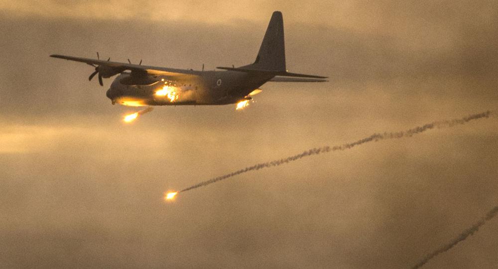 Izraelské letadlo C-130 Hercules