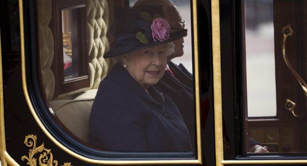 Královna Velké Británii Alžběta II