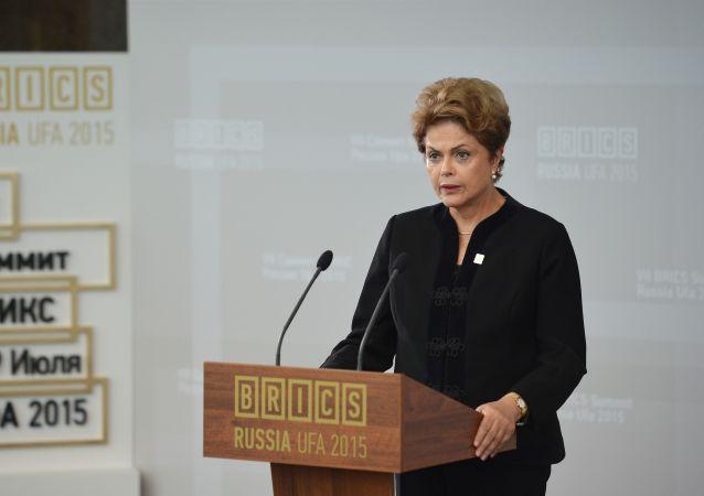 Prezidentka Brazílie Dilma Rousseffová