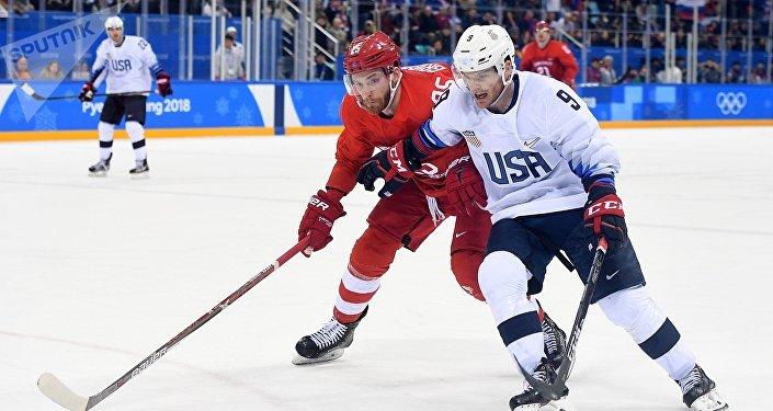 Zápas mezi Ruskem a USA
