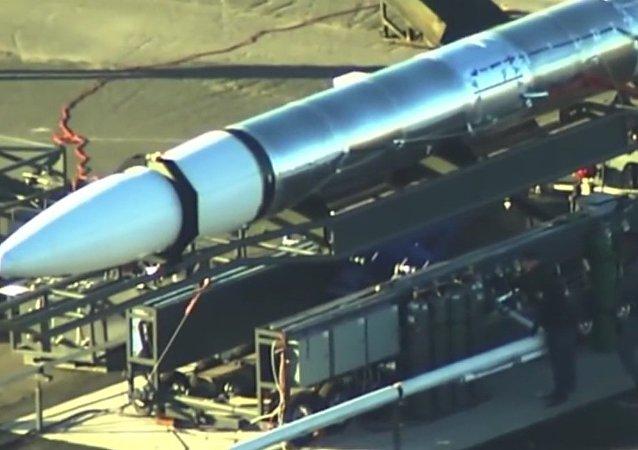 Video s tajnou americkou raketou