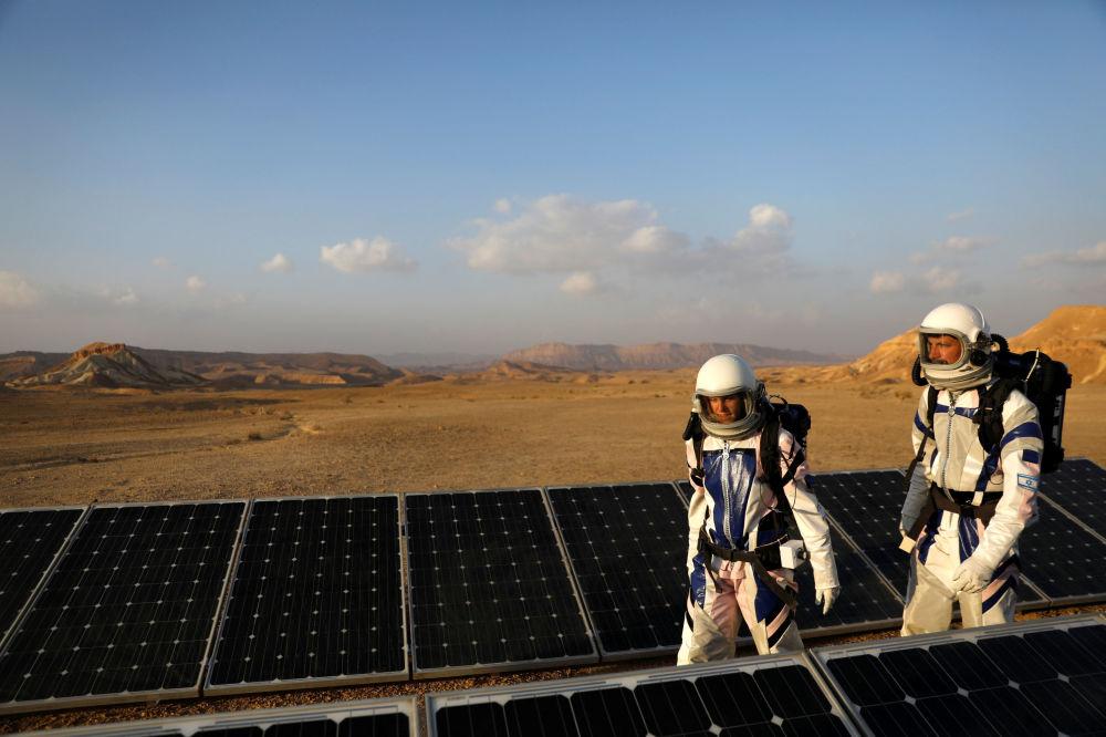 Mars na Zemi: Izraelští vědci se připravují na misi na červené planetě