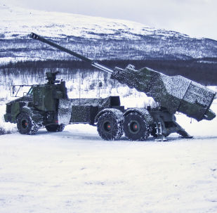 Švédská samohybná houfnice Archer ráže 155 mm