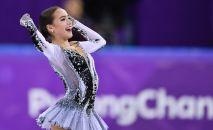 Ruská krasobruslařka Alina Zagitovová