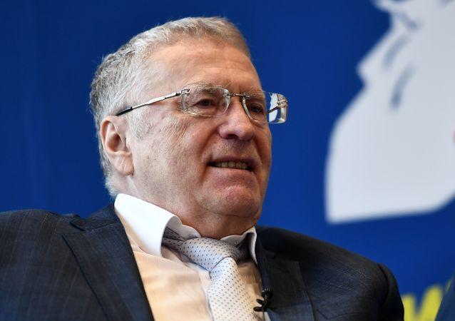Kandidát na prezidenta Ruska Vladimir Žirinovskij