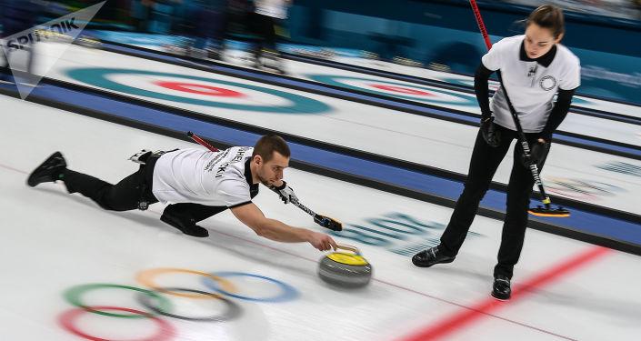 Bryzgalová a Krušelnický na Olympijských hrách