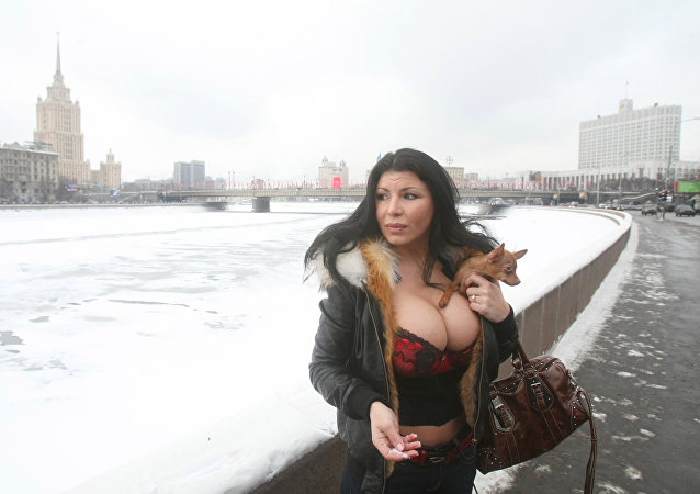 Ruská modelka Iren Ferrariová
