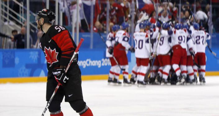 Hokej. Česko - Kanada
