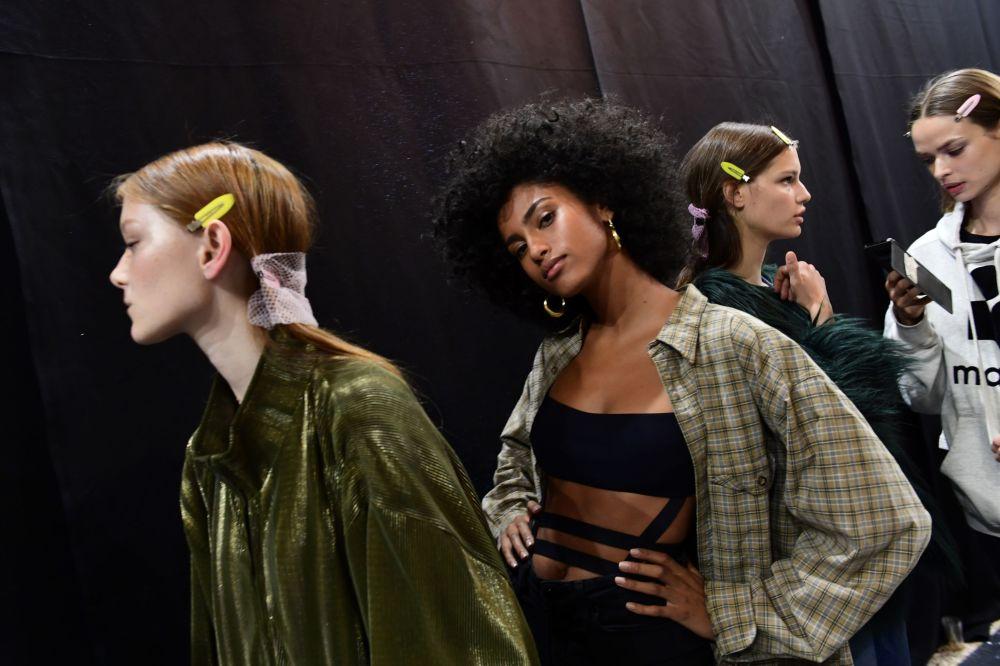 Šokující modely na týdnu módy v Miláně