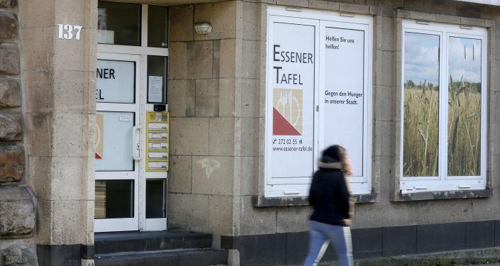 Potravinová banka Tafel v Essenu