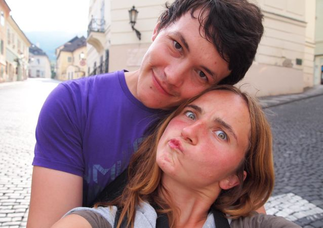 Slovenský reportér Ján Kuciak a jeho přítelkyně Martina