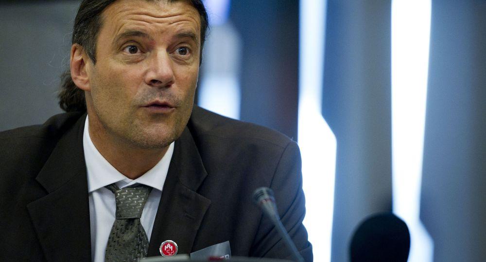 Viceprezident Švýcarské lidové strany Oscar Freisinger