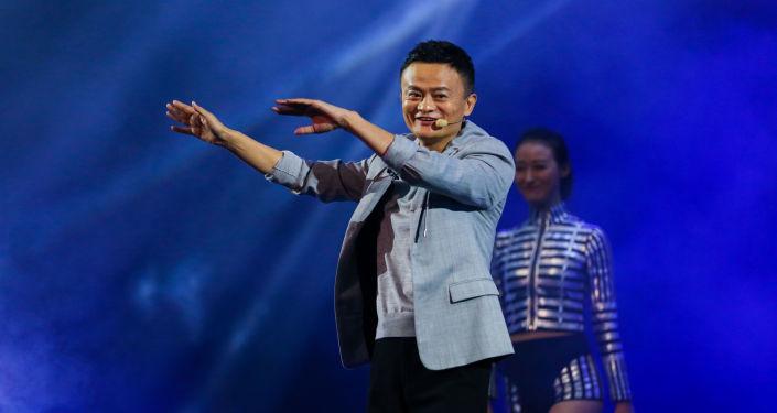 Ředitel společnosti Alibaba. Ilustrační foto