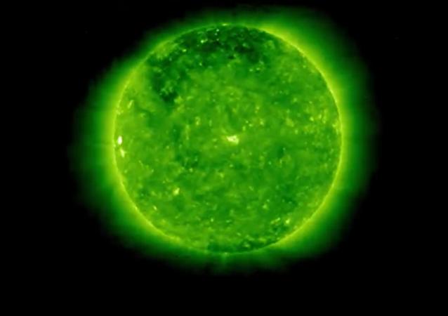 Slunce na okamžik mizí z vesmíru