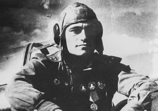 Sovětský letec Amet-Chan Sultan
