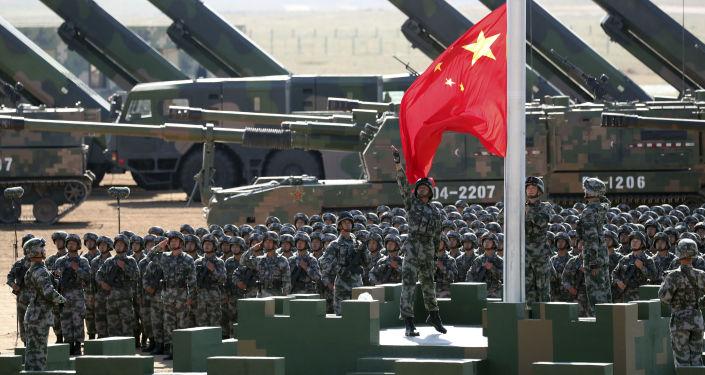 Přehlídka v Číně