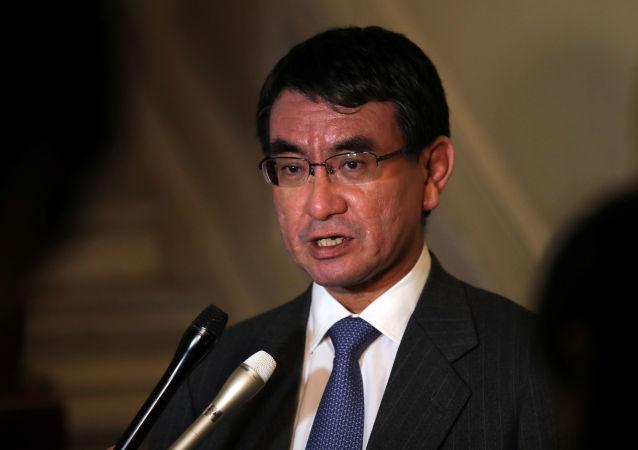 Ministr zahraničí Japonska Taró Kóno