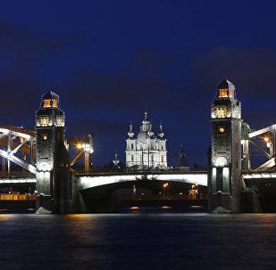 Večerní Petrohrad