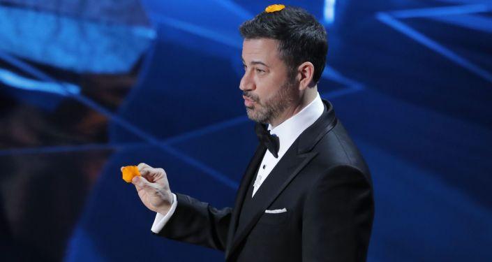 Moderátor Oscaru Jimmy Kimmel