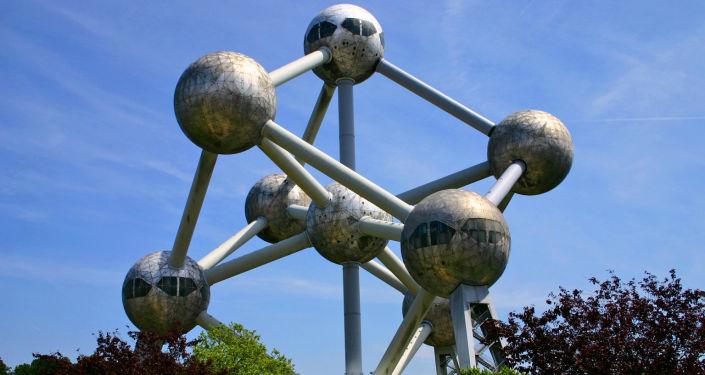 Atomium v Belgii
