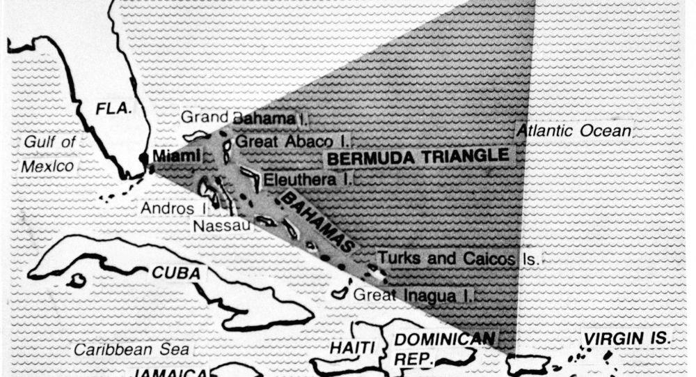 Bermudský trojúhelník na mapě 1979