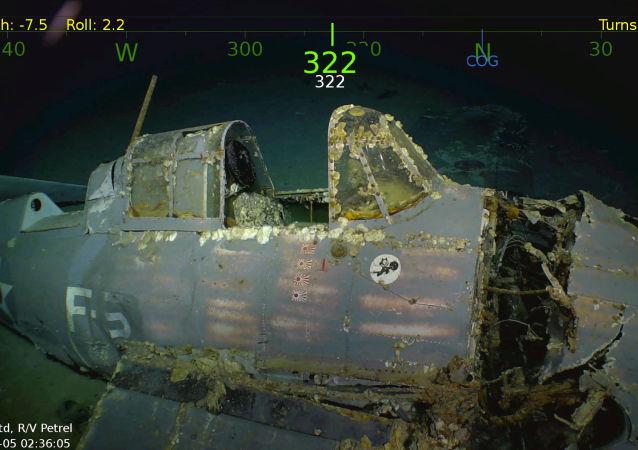 Letadlová loď potopená během 2. světové války byly nalezena na dně Korálového moře