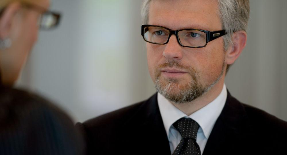 Ukrajinský velvyslanec v Německu Andrej Melnik