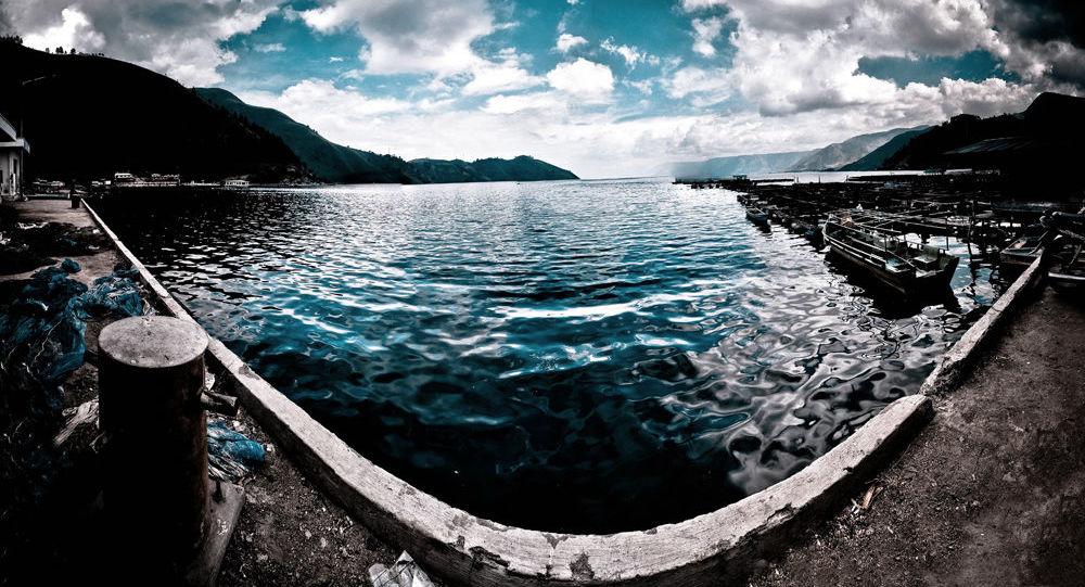 Supervulkán a jezero Toba, Indonésie