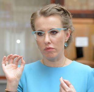 Kandidátka na prezidenta za stranu Občanská iniciativa Xenie Sobčaková