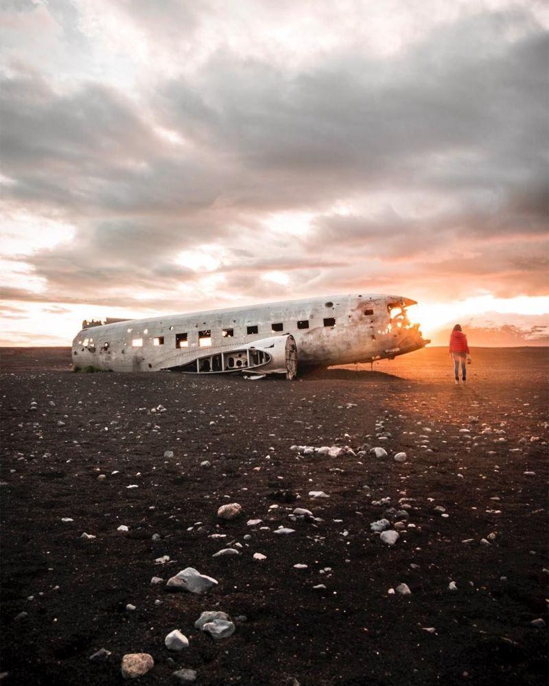 Fotografie krajiny Islandu