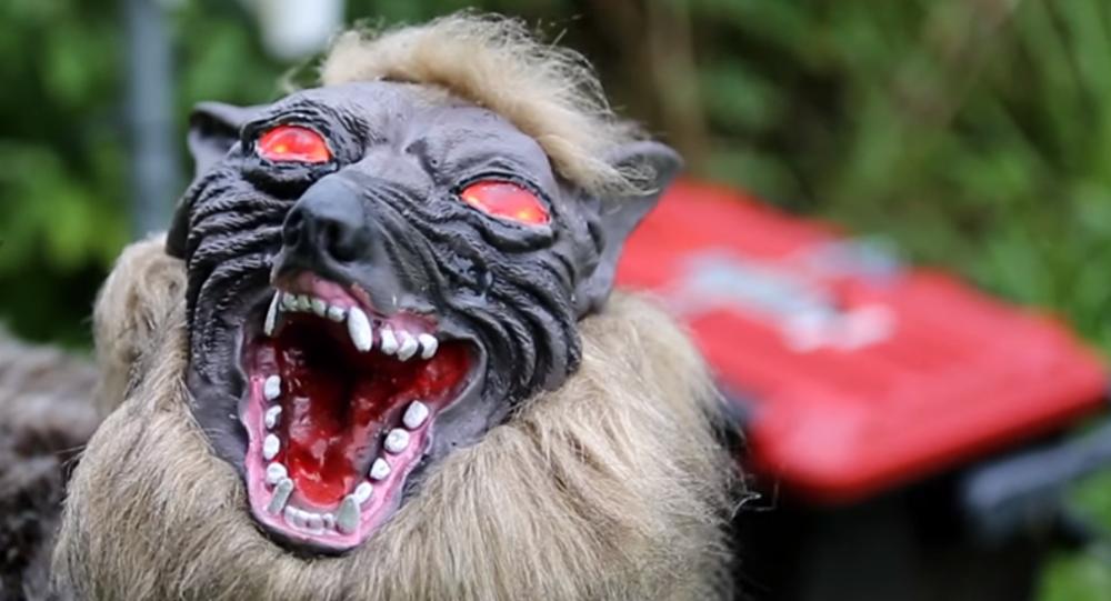 Japonsko připravuje robota Super Monster Wolf na ochranu své úrody od divočáků