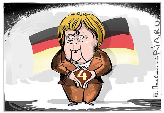 Šťastné číslo Merkelové