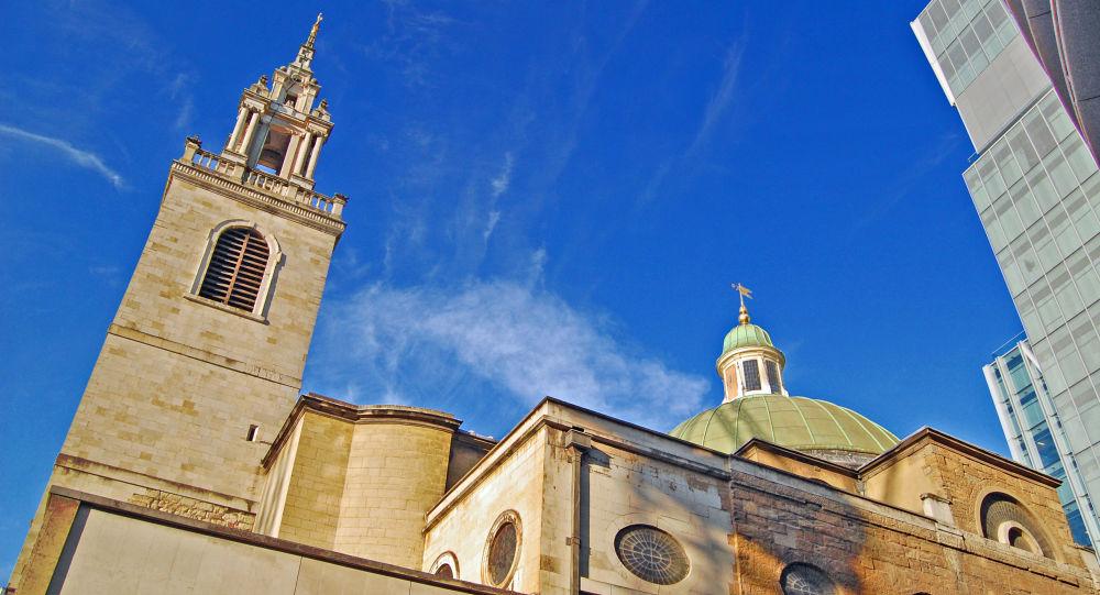 Kostel St. Stephen Walbrook v Londýně