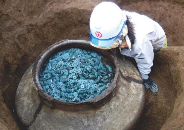 Poklad objevený v Saitamě