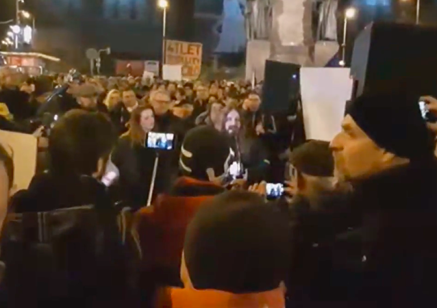 Protesty v Praze 18. března