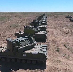 Cvičení ruské protivzdušné obrany
