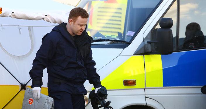 Práce policie v případu Skripala v Salisbury