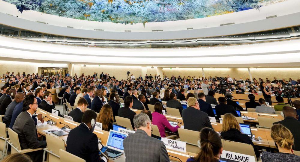 Rada OSN pro lidská práva v Ženevě