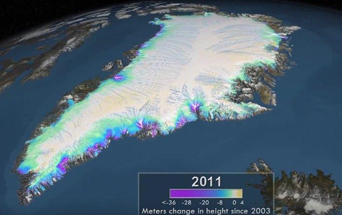 Grónský ledovec do poloviny století zmizí