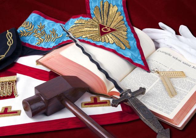 Zednářské rituální předměty
