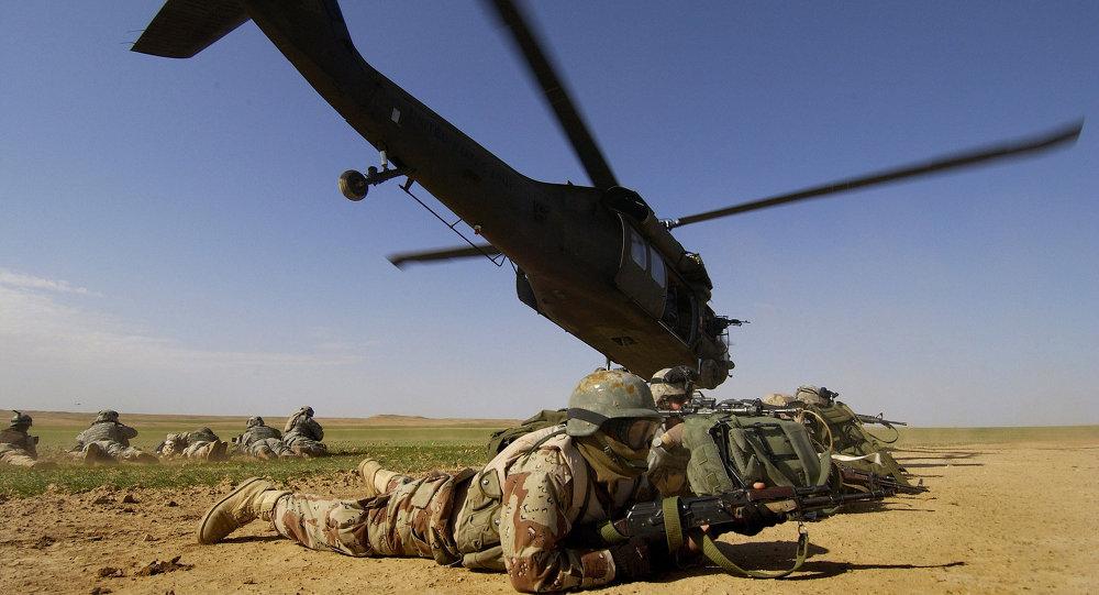 Vojáci USA v Afghánistánu