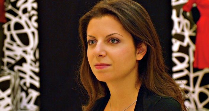 Šéfredaktorka RT a Sputniku Margarita Simoňanová. Ilustrační foto