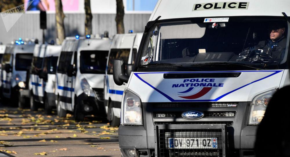 Francouzská police