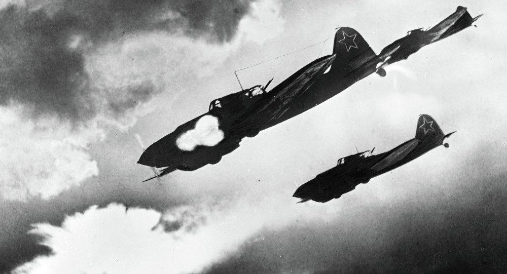Bitevní letadlo IL-2