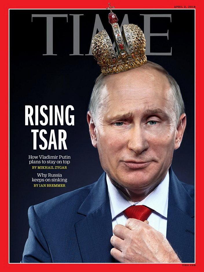 Vladimir Putin na obálce časopisu Time