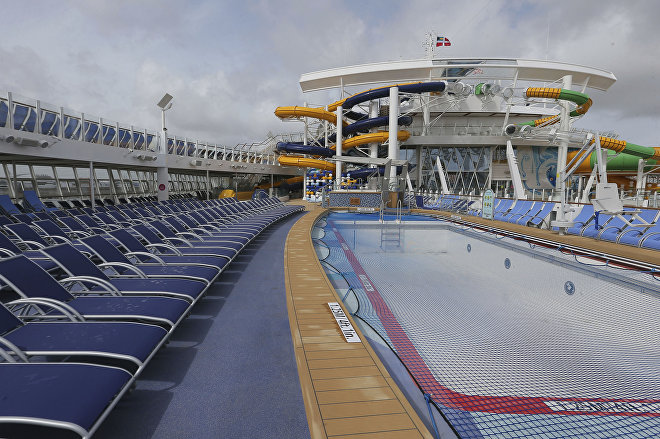 Bazén, loď The Symphony of the Seas