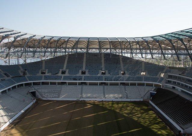 Stavba Volgograd Areny